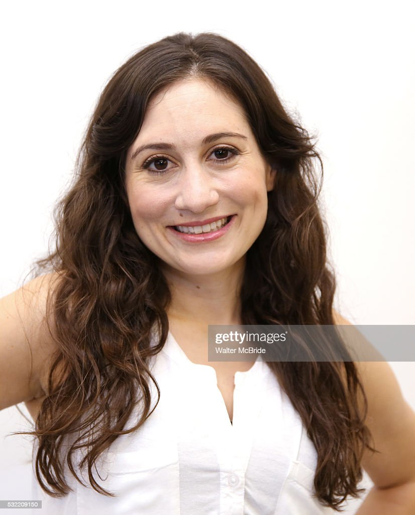 Lucy DeVito attends the photo call for the upcoming Bucks County Playhouse production of Robert Harling's comedy 'Steel Magnolias' at their rehearsal...
