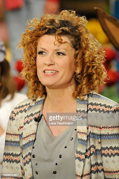 Lucy Diakovska attends 'Das Fruehlingsfest der 100000 Blueten' TVShow at GETEC Arena on March 16 2013 in Magdeburg Germany