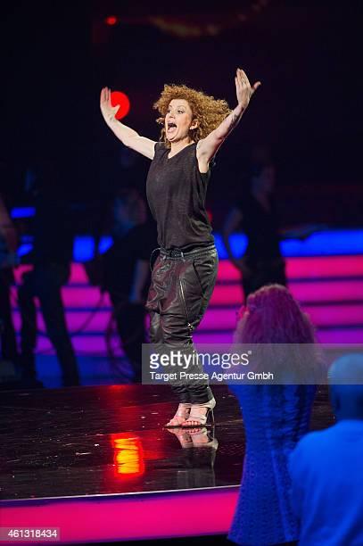 Lucy Diakovska attends the 'Das grosse Fest der Besten' tv show at Velodrom on January 10 2015 in Berlin Germany