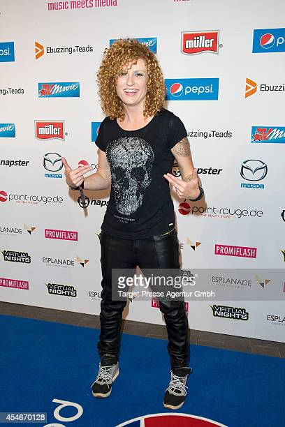 Lucy Diakovska attends the Music Meets Media 2014 at Grand Hotel Esplanade on September 4 2014 in Berlin Germany