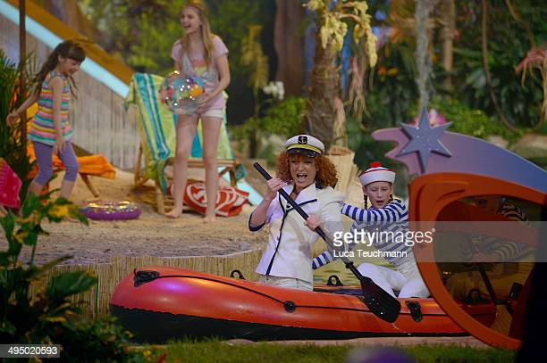 Lucy Diakovska performs 'Das Sommerfest am See' TVShow on May 31 2014 in Erfurt Germany