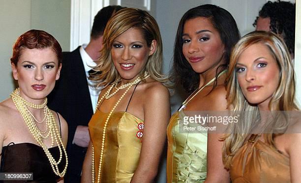 Lucy Diakovska Vanessa Petruo Nadja Benaissa Sandy Mölling Musikgruppe 'No Angels' Verleihung der 'Goldenen Kamera' 2003 Berlin Deutschland Europa...