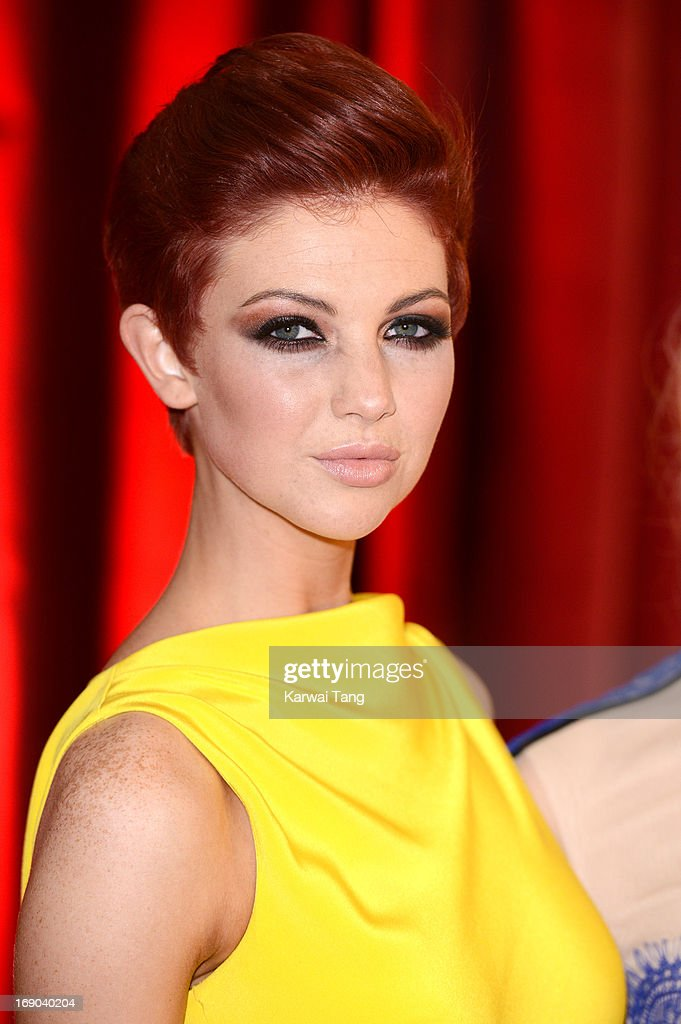 Lucy Dixon attends the British Soap Awards at Media City on May 18, 2013 in Manchester, England.