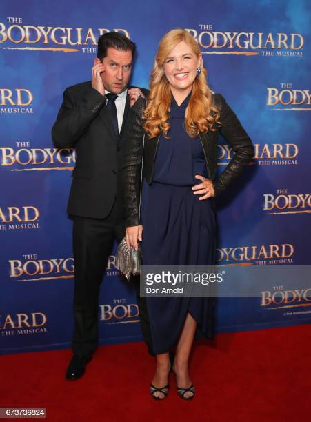 Lucy Durack arrives ahead of opening night of The Bodyguard The Musical at Lyric Theatre Star City on April 27 2017 in Sydney Australia