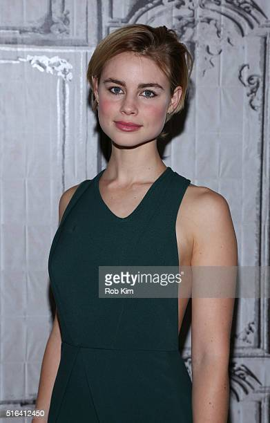 Lucy Fry attends AOL Build Speaker Series to discuss 'The Preppie Connection' at AOL Studios In New York on March 18 2016 in New York City