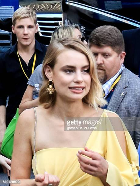 Lucy Fry is seen on July 19 2017 in San Diego California
