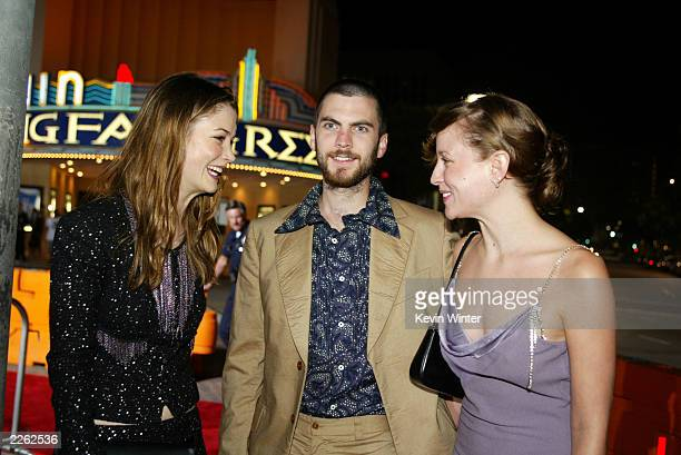 Lucy Gordon Wes Bentley and wife Jennifer Quanz at the premiere and afterparty for 'The Four Feathers' at the Mann Village Theatre and Armand Hammer...