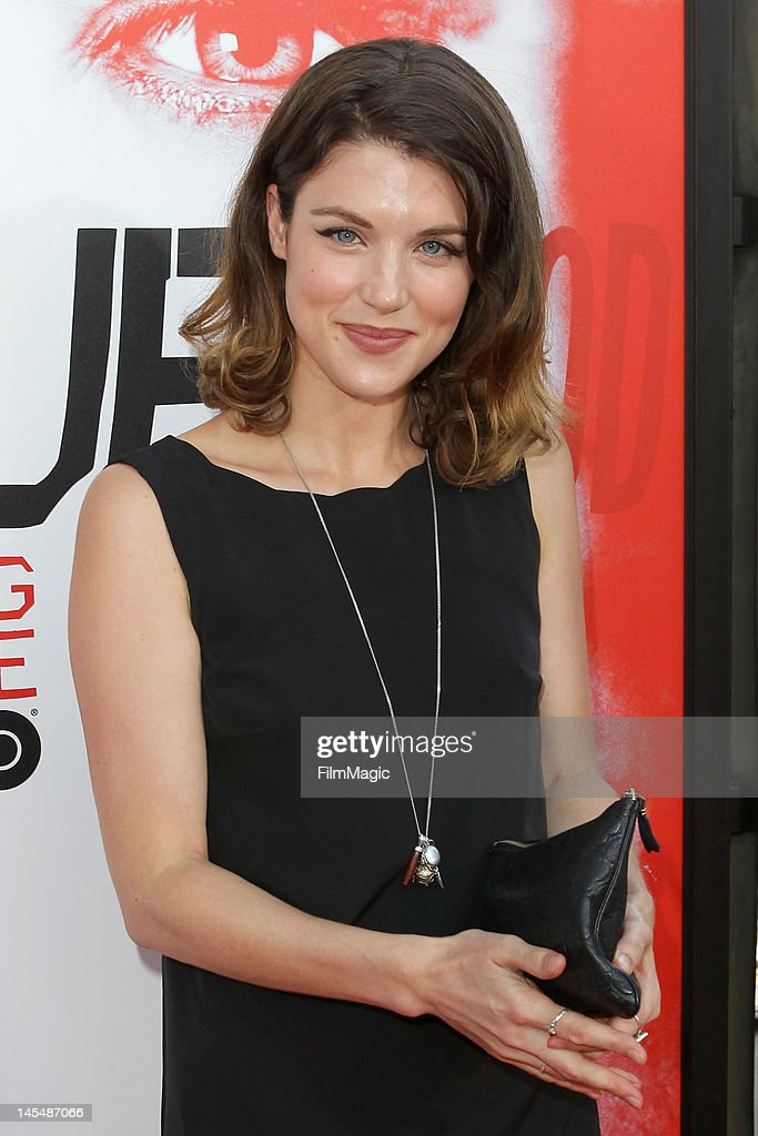 Lucy Griffiths attends the HBO's Season 5 Premiere Of 'True Blood' at ArcLight Cinemas Cinerama Dome on May 30, 2012 in Hollywood, California.