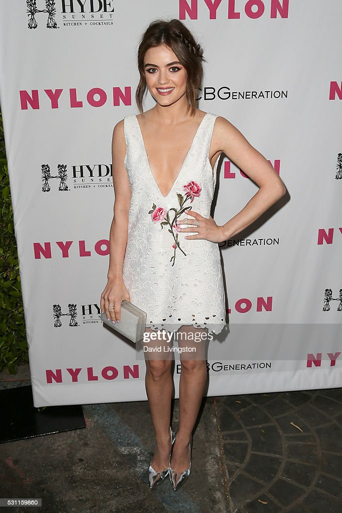 <a gi-track='captionPersonalityLinkClicked' href=/galleries/search?phrase=Lucy+Hale&family=editorial&specificpeople=4430849 ng-click='$event.stopPropagation()'>Lucy Hale</a> arrives at NYLON and BCBGeneration's Annual Young Hollywood May Issue Event at HYDE Sunset: Kitchen + Cocktails on May 12, 2016 in West Hollywood, California.