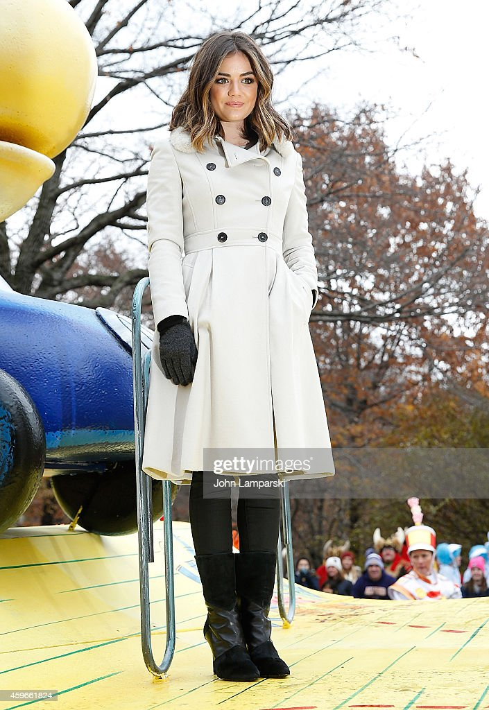 Lucy Hale attends the 88th Annual Macys Thanksgiving Day Parade at on November 27 2014 in New York New York
