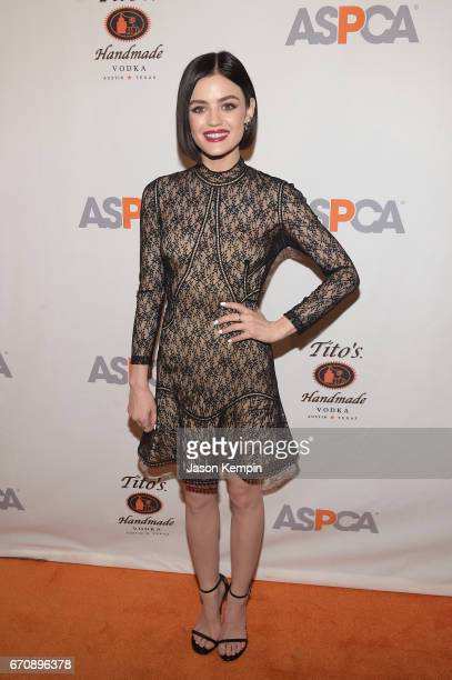 Lucy Hale attends the ASPCA After Dark cocktail party hosted by Lucy Hale at The Plaza Hotel on April 20 2017 in New York City