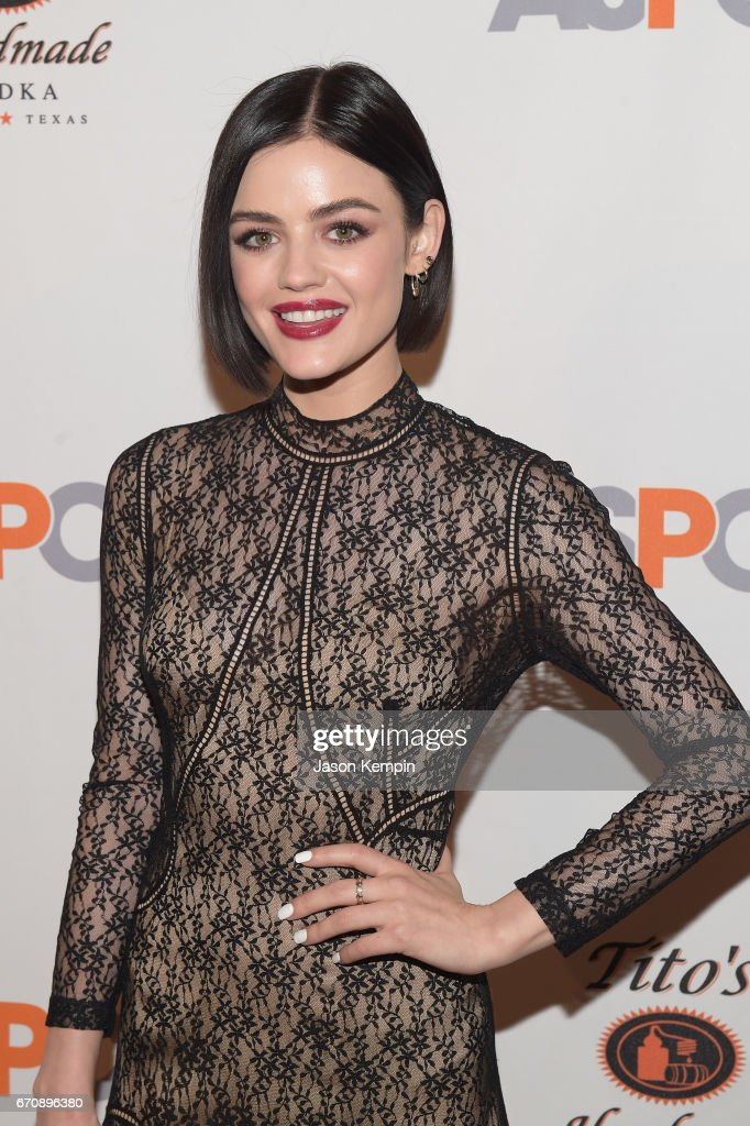 Lucy Hale attends the ASPCA After Dark cocktail party hosted by Lucy Hale at The Plaza Hotel on April 20, 2017 in New York City.