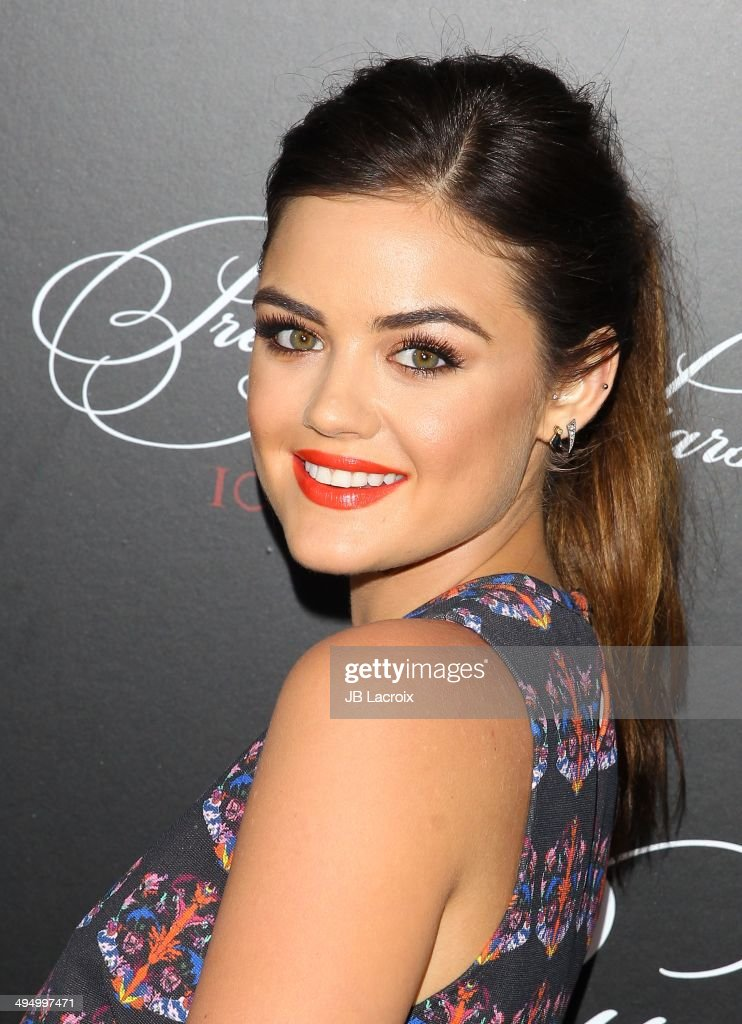 <a gi-track='captionPersonalityLinkClicked' href=/galleries/search?phrase=Lucy+Hale&family=editorial&specificpeople=4430849 ng-click='$event.stopPropagation()'>Lucy Hale</a> attends the 'Pretty Little Liars' Celebrates 100 Episodes held at the W Hollywood Hotel on May 31, 2014 in Hollywood, California.