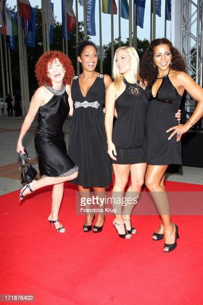 Lucy Jessica Sandy And Nadja From The No Angels In The IFA Opening Gala at the Palais am Funkturm in Berlin