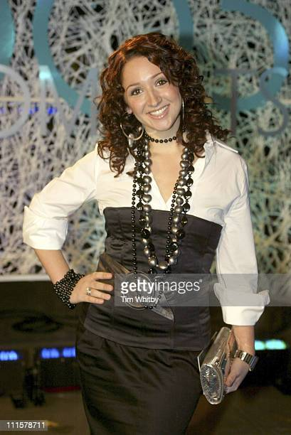 Lucy Jo Hudson during 2005 TV Moments Awards London at Studio TC1 in London Great Britain