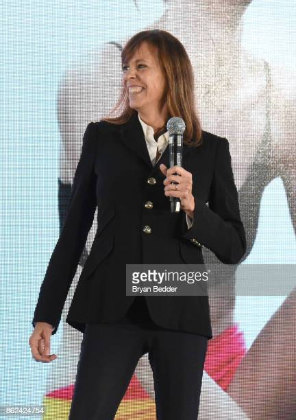 Lucy Kaylin speaks onstage Hearst Magazines' Unbound Access MagFront at Hearst Tower on October 17 2017 in New York City