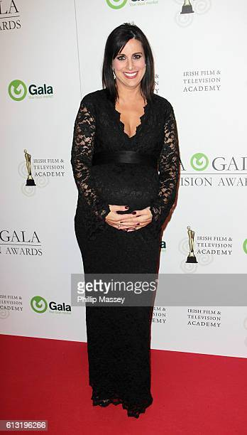 Lucy Kennedy attends the IFTA Gala Television awards at on October 7 2016 in Dublin Ireland