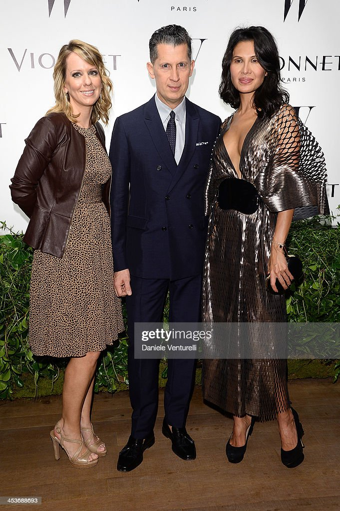 Lucy Kriz Stefano Tonchi and Goga Ashkenazi attend W Magazine and Vionnet celebrate the opening Perez Art Museum Miami during Art Basel Miami Beach...