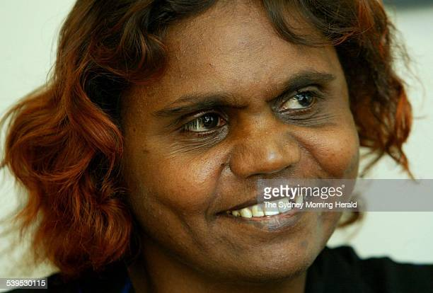 Lucy Kunoth from Utopia Northern Territory in a waiting room at St Vincents Hospital in Darlinghurst Sydney 23 November 2004 SMH Picture by DALLAS...