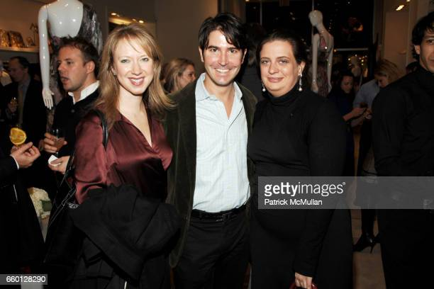 Lucy Lang Ian McLaine and Georgina Schaefer attend RORY ELIE TAHARI Party for the 55th Annual Winter Antiques Show YOUNG COLLECTORS' NIGHT at Elie...