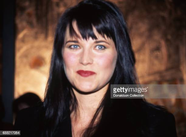 the Warrior Princess attends an event January 1996 in Los Angeles California