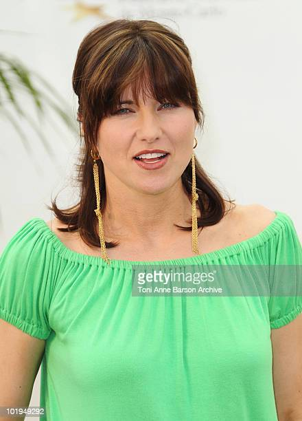 Lucy Lawless attends photocall for 'Spartacus Blood and Sand'at Grimaldi Forum on June 10 2010 in MonteCarlo Monaco