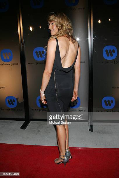 Lucy Lawless during 2006 Warner Music Group GRAMMY Arrivals in Los Angeles California United States