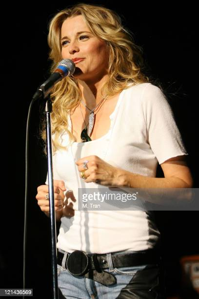 Lucy Lawless during Lucy Lawless in Concert at The Roxy January 14 2007 at The Roxy in West Hollywood California United States
