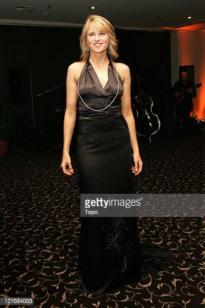 Lucy Lawless during Starship Hospital Charity Ball March 6 2006 at Ellerslie Racecourse in Auckland Auckland New Zealand