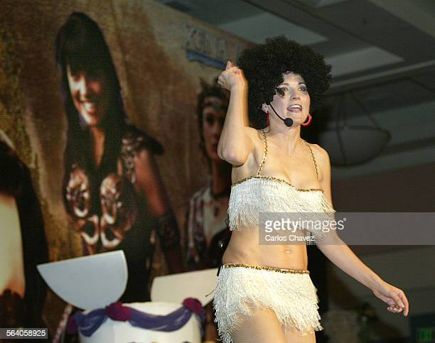 Warrior Princess danced and did a QA for the hundreds attending the 10th Annirvercery in Burbank The show went off the air in 2001 but devotees...