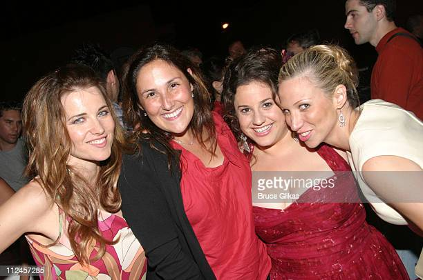 Lucy Lawless Ricki Lake Marissa Jaret Winokur and Deborah Gibson