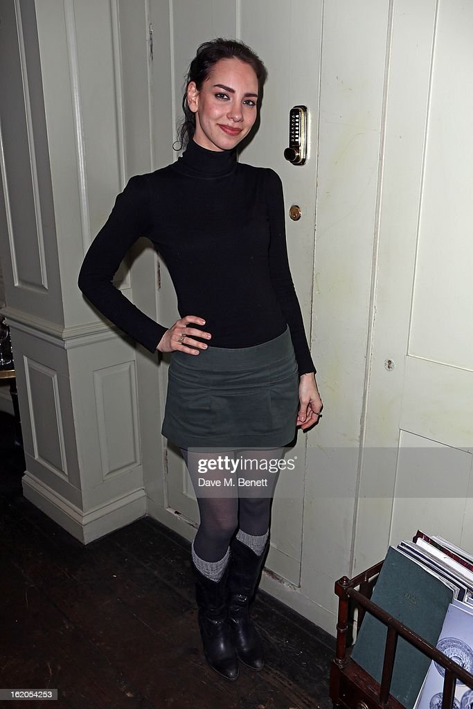 Lucy Layton attends the Richard Nicoll and Louise Gray after party at Soho House on February 18, 2013 in London, England.