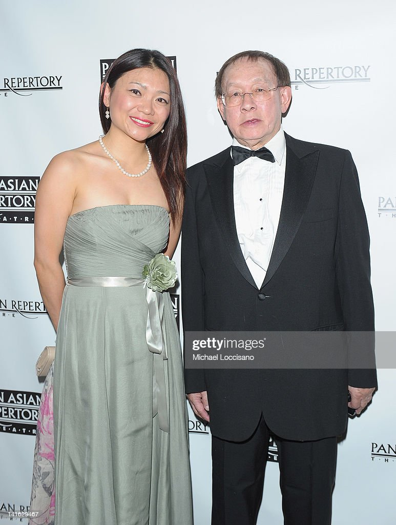 Lucy Li and Alfie Lee attend 'Legacy And Homecoming' the Pan Asian Repertory's 35th Anniversary Gala at The Edison Ballroom on March 19, 2012 in New York City.