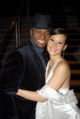 Lucy Liu and Taye Diggs during Chicago Premiere at Academy of Motion Picture Arts Sciences in Los Angeles CA United States
