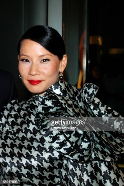 Lucy Liu attends ALEXANDER MCQUEEN Fashion's Night Out at Alexander McQueen Store on September 10 2009 in New York