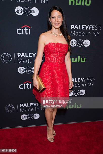 Lucy Liu attends PaleyFest New York 2016 for 'Elementary' at The Paley Center for Media on October 8 2016 in New York City