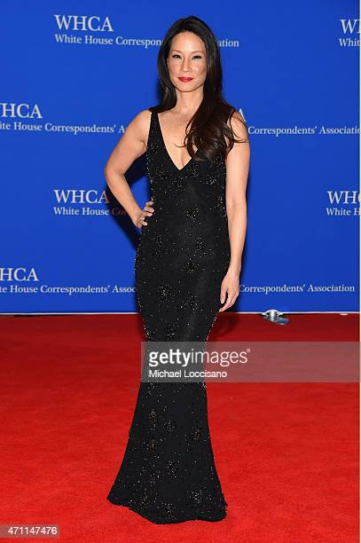 Lucy Liu attends the 101st Annual White House Correspondents' Association Dinner at the Washington Hilton on April 25 2015 in Washington DC