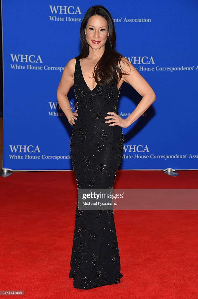 <a gi-track='captionPersonalityLinkClicked' href=/galleries/search?phrase=Lucy+Liu&family=editorial&specificpeople=201874 ng-click='$event.stopPropagation()'>Lucy Liu</a> attends the 101st Annual White House Correspondents' Association Dinner at the Washington Hilton on April 25, 2015 in Washington, DC.
