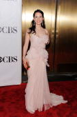Lucy Liu attends the 64th Annual Tony Awards at Radio City Music Hall on June 13 2010 in New York City