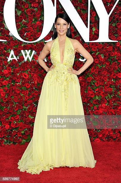 Lucy Liu attends the 70th Annual Tony Awards at the Beacon Theatre on June 12 2016 in New York City