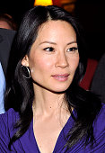 Lucy Liu attends the 'God Of Carnage' cast caricature unveiling at Sardi's on April 27 2010 in New York City