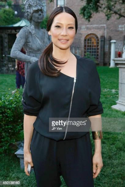 Lucy Liu attends the Stella McCartney Spring 2015 Presentation at Elizabeth Street Gardens on June 5 2014 in New York City