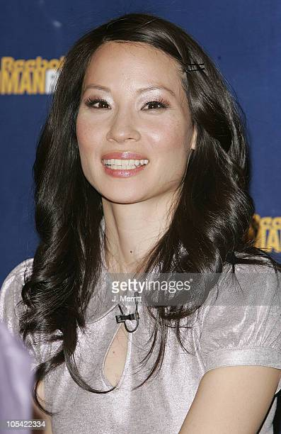 Lucy Liu during 2005 Reebok Human Rights Awards Arrivals and Ceremony at UCLA Royce Hall in Westwood California United States
