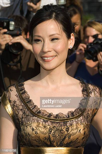 Lucy Liu during 2007 ABC Network UpFront at Lincoln Center in New York City New York United States
