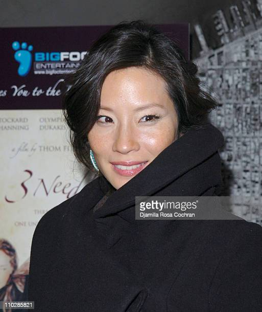 Lucy Liu during '3 Needles' New York Premiere After Party at QT in New York City New York United States