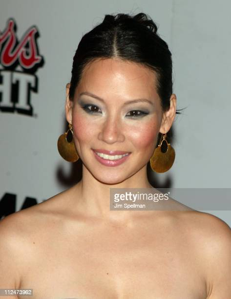 Lucy Liu during 'Kill Bill Volume 1' New York City Premiere Red Carpet Arrivals at Ziegfeld Theatre in New York City New York United States
