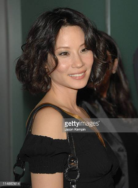 Lucy Liu during Launch Party For Piperlime November 1 2006 at The Hotel Gansevoort in New York City New York United States