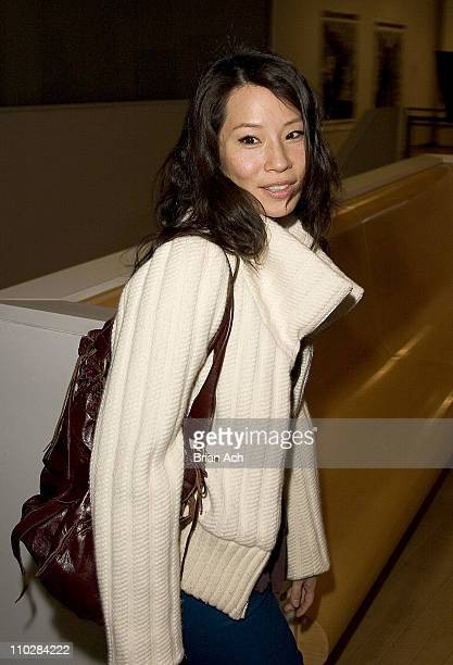 Lucy Liu during Marie Claire and Drew Barrymore Host an Evening of Photography March 13 2006 at International Center of Photography in New York New...