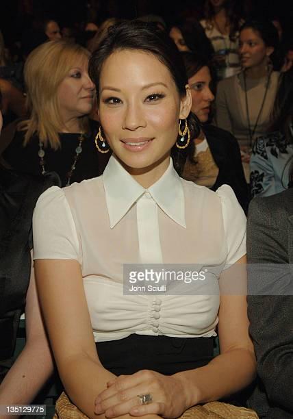 Lucy Liu during MercedesBenz Spring 2006 LA Fashion Week at Smashbox Studios Louis Verdad Front Row at Smashbox Studios in Culver City California...