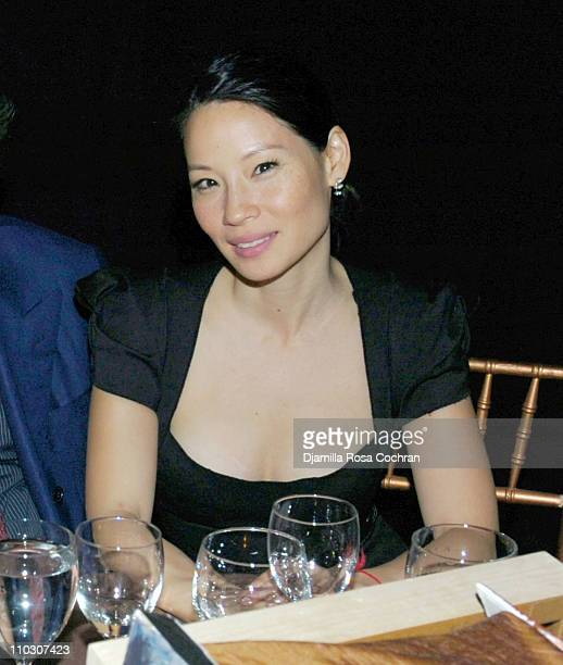 Lucy Liu during New York Studio School Benefit Gala October 19 2006 at Prince George Ballroom in New York City New York United States